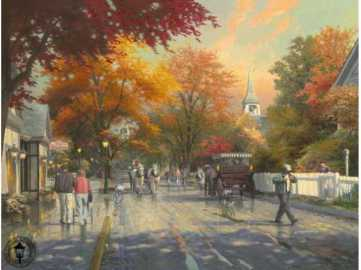 autumn-on-mackinac-island Kinkade