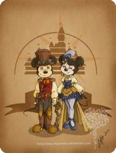 Steam punk Disney